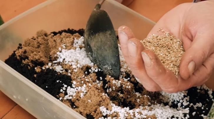 Приготовление грунта
